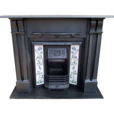 "SS063 - Original Slate Fireplace Surround (51""H x 56""W)"