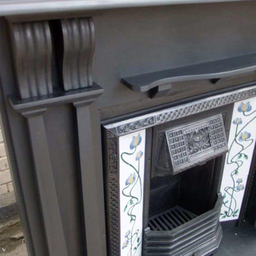 Original Slate Fireplace Surround