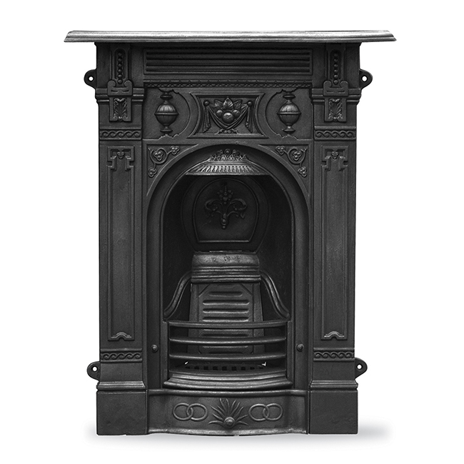 Victorian Fireplace: Carron Small Victorian Combination Fireplace