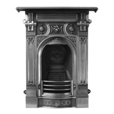 CR023 - Carron Small Victorian Cast Iron Combination Fireplace