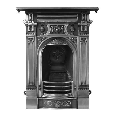 CR023 - Carron Small Victorian Cast Iron Combination Fireplace