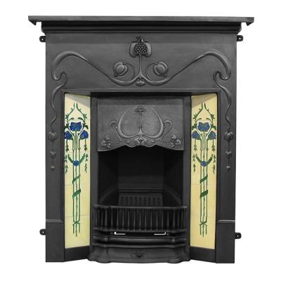 Valentine Cast Iron Combination Fireplace