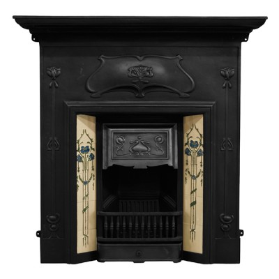 Verona Cast Iron Combination Fireplace