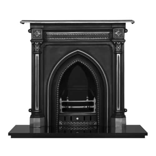 Gothic Combination Fireplace