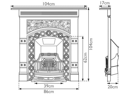 Jekyll Combination Fireplace