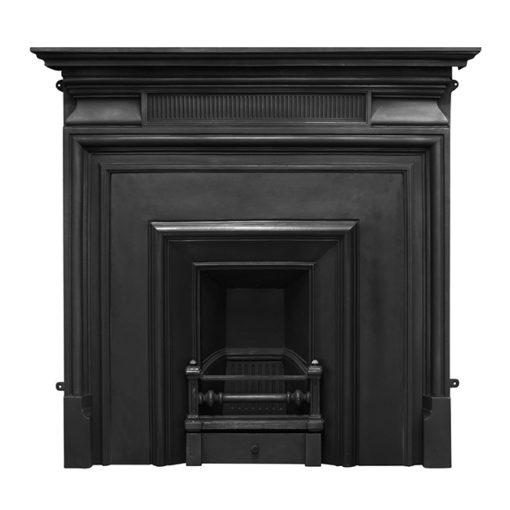 Carron Narrow Royal Cast Iron Fireplace Insert