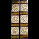 OT140 - Antique Fireplace Tiles - Swirling Floral Design