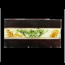 OT153 - Vintage Fireplace Tiles with Floral Design