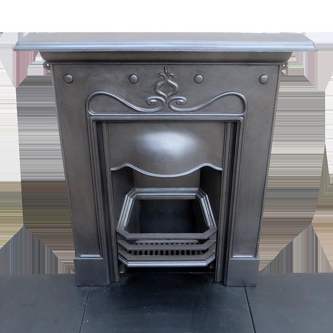 Antique Vintage Bedroom Fireplace: Matching Cast Iron Antique Bedroom Fireplace