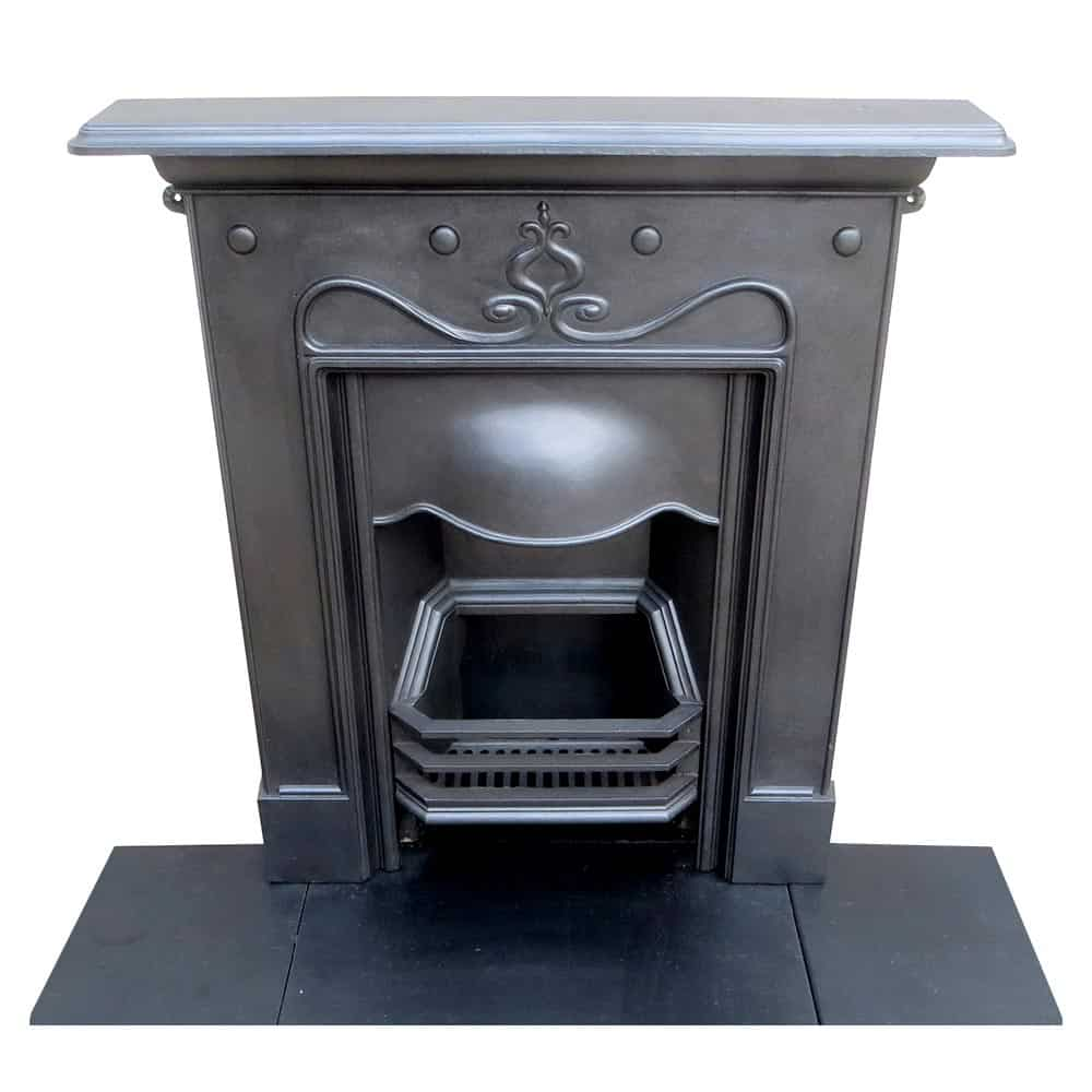 Cast Iron Antique Bedroom Fireplace Victorian Fireplace