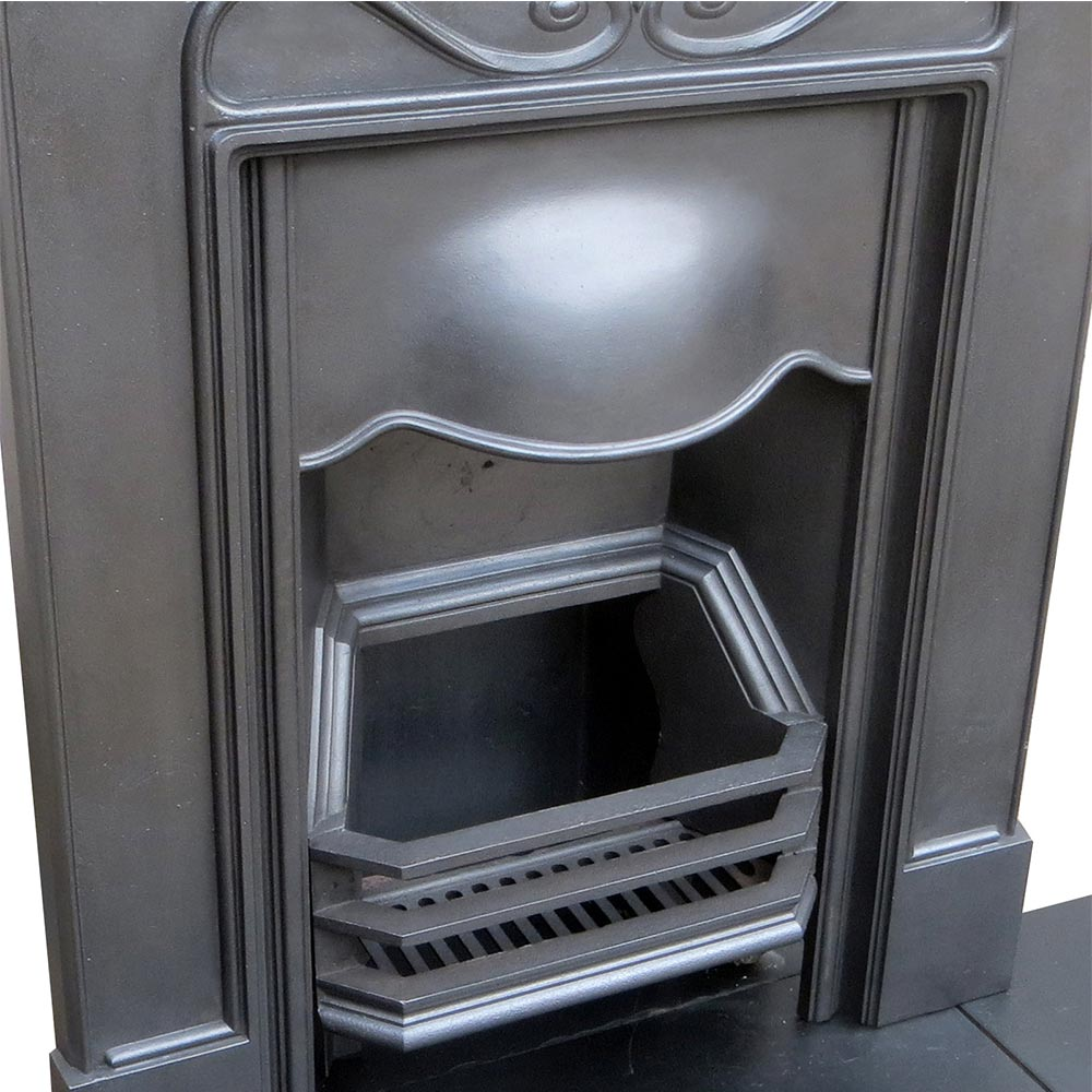 Antique Vintage Bedroom Fireplace: Cast Iron Antique Bedroom Fireplace