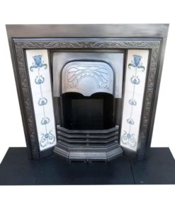 Uniquely Designed Cast Iron Fireplace Insert