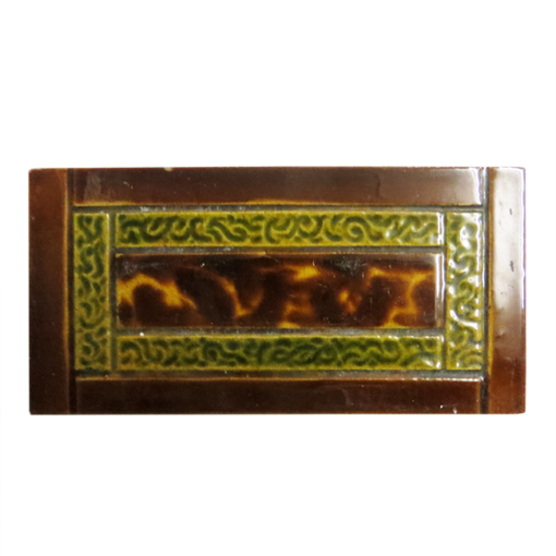Amber & Brown Fireplace Tiles