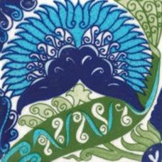 William De Morgan Persian Floral Tile (ST011)
