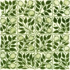 William De Morgan Fruit Bough Tile (ST014)