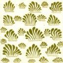 William De Morgan Grass Tile (A/B) (ST041)