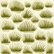 William De Morgan Grassy Tile (A/B) (ST042)