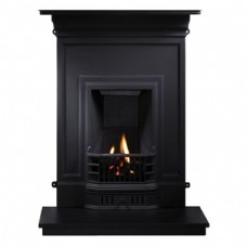 GAL017 - Barcelona Cast Iron Combination Fireplace