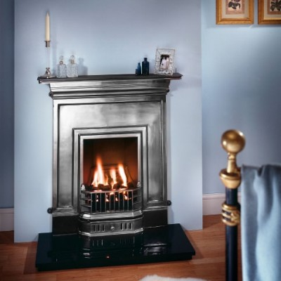 The Barcelona Cast Iron Combination Fireplace