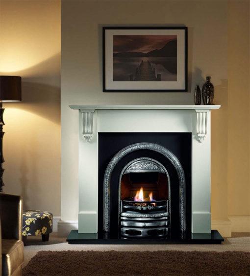 The Bolton Cast Iron Fireplace Insert