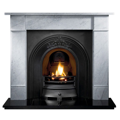 The Brompton Cararra Marble Surround