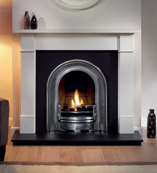 The Coronet Cast Iron Fireplace Insert