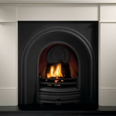 GAL003 - Crown Cast Iron Fireplace Insert (Two Size Options)