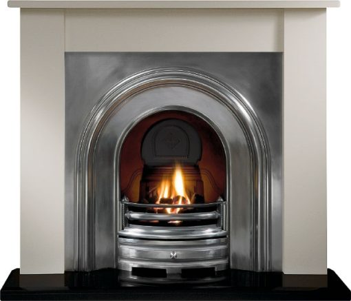 The Crown Cast Iron Fireplace Insert