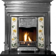 GAL020 - Edwardian Cast Iron Combination Fireplace
