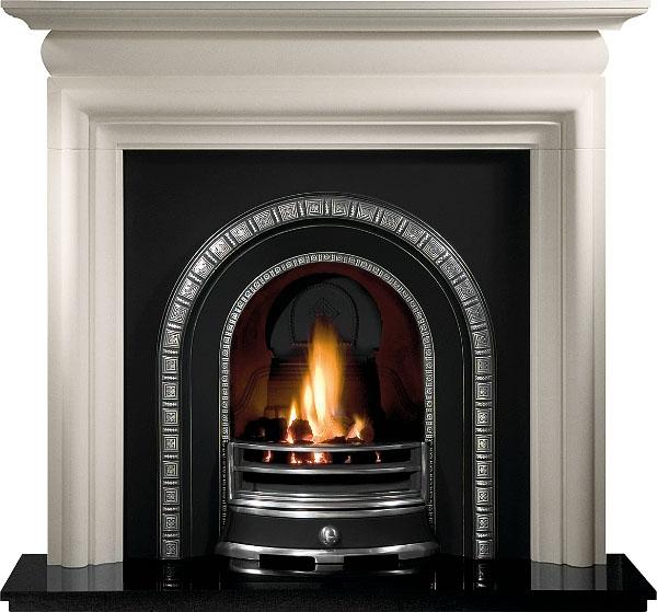 Henley Cast Iron Fireplace Insert 37 Victorian Fireplace Store