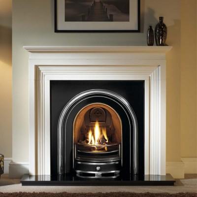 The Jubilee Cast Iron Fireplace Insert