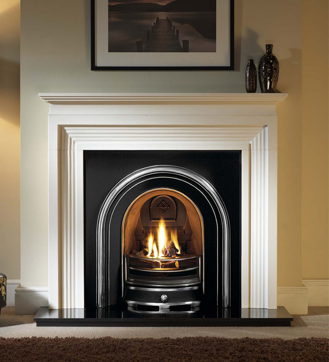 Jubilee Cast Iron Fireplace Insert 37, How To Clean Iron Fireplace Surround