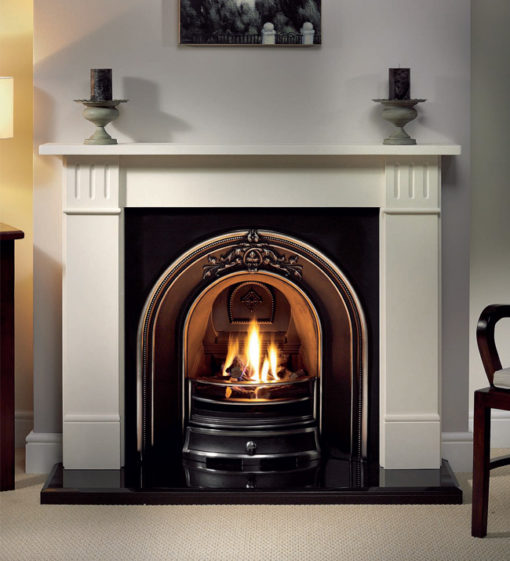 The Landsdowne Cast Iron Fireplace Insert
