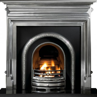 GAL007 - Lytton Cast Iron Fireplace Insert