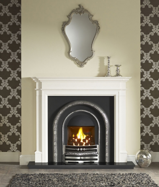The Lytton Cast Iron Fireplace Insert