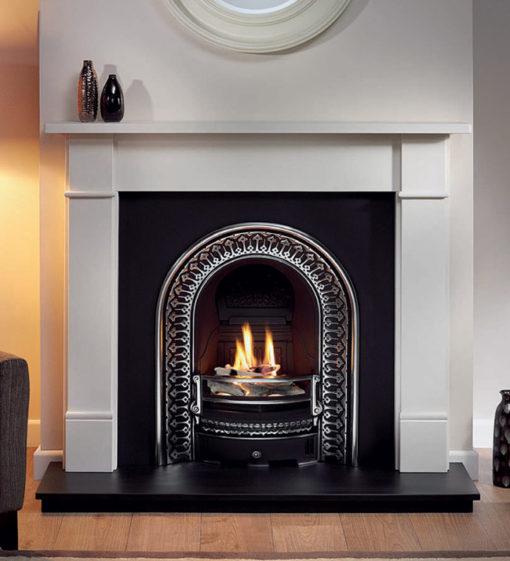 The Regal Cast Iron Fireplace Insert