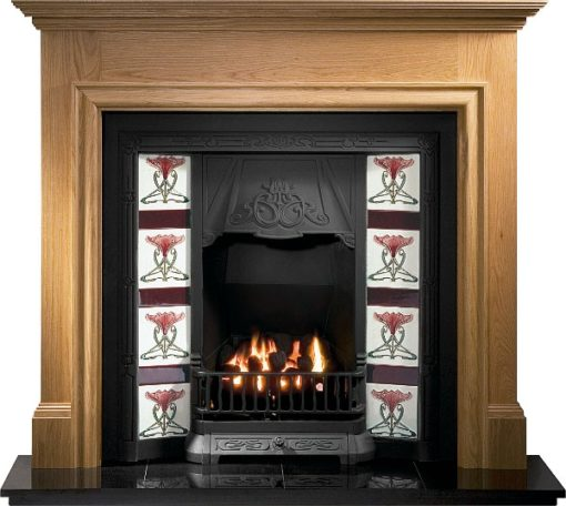 Toulouse Cast Iron Insert Fireplace