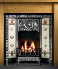 Tulip Cast Iron Insert Fireplace