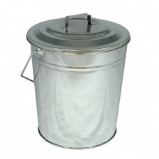 Galvanised Coal Tub & Lid
