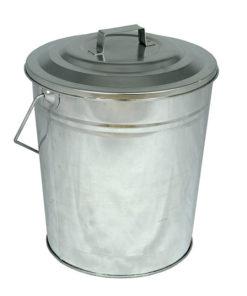 Galvanised Coal Tub