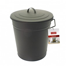 Metal Coal Tub & Lid