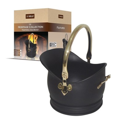 Heritage Traditional Coal Bucket (multiple size/trims)