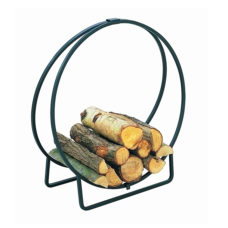 Hoop Log Holder