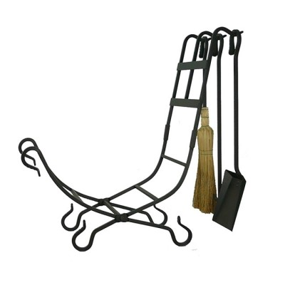 Smithy Log Holder & Tools