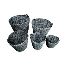 Heavy Duty Log Baskets (Set of 5)