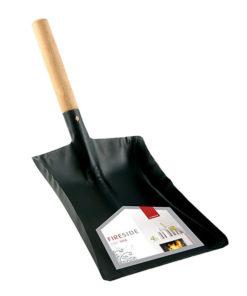"""De Vielle Wooden Handle Shovel (9"""") (Black)"""
