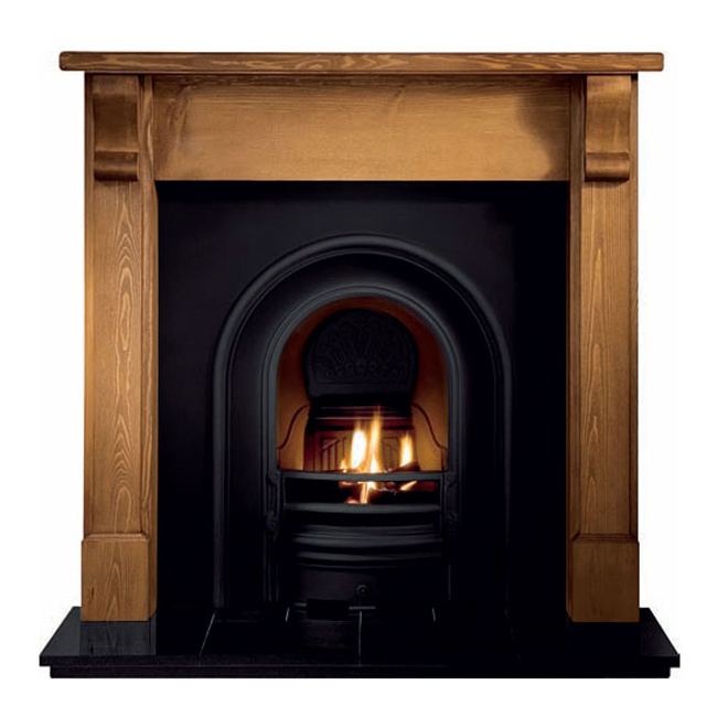 Wooden Fireplace: Bedford Wooden Fireplace Surround