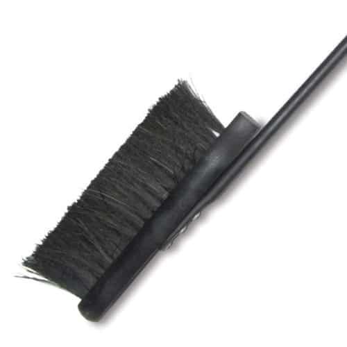 De Vielle Heritage Long Handle Brush (Black)