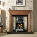 GAL049 - Danesbury Wooden Fireplace Surround (Solid Pine)