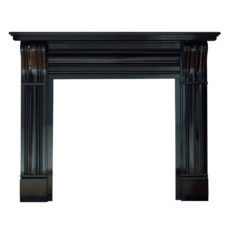 GAL047 - Dublin Corbel Black Granite Surround (Granite)